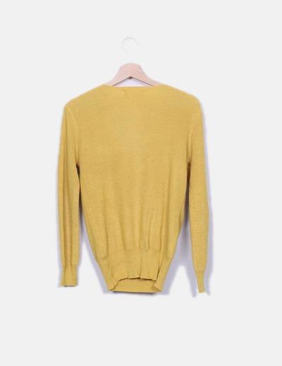 Jersey de punto amarillo