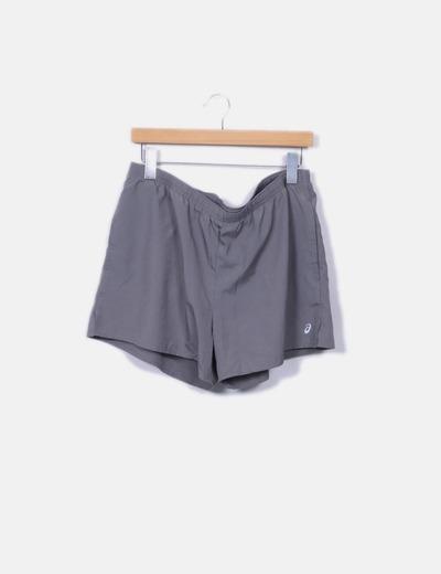 Pantalons de survêtement gris Asics