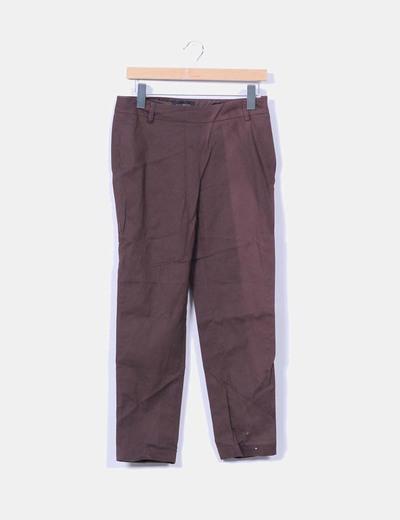 Pantalón marrón Cortefiel