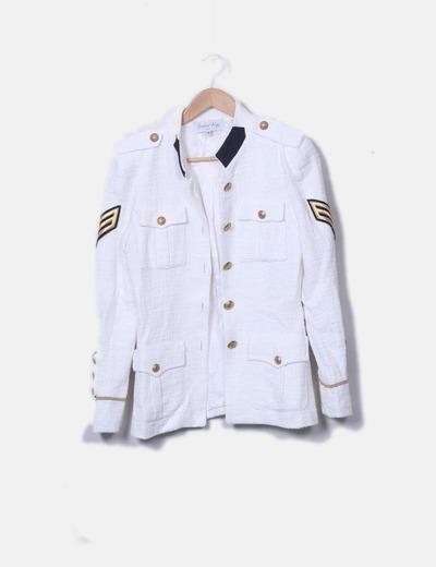 Blazer tweed navy