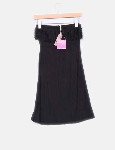 94 Micolet Mangas Vestido Ardene Sin Flecos Con Negro descuento 8fnqw0