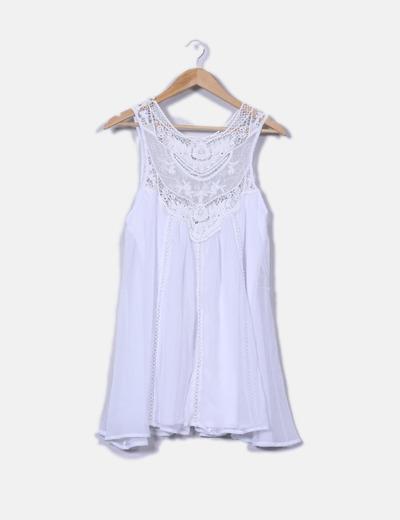 Vestido blanco shein