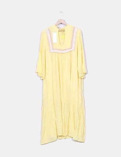 Vestido amarillo Gold & Silver