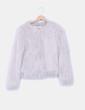 Abrigo pelo gris  Only Fashion