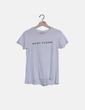Camiseta blanca print Mango
