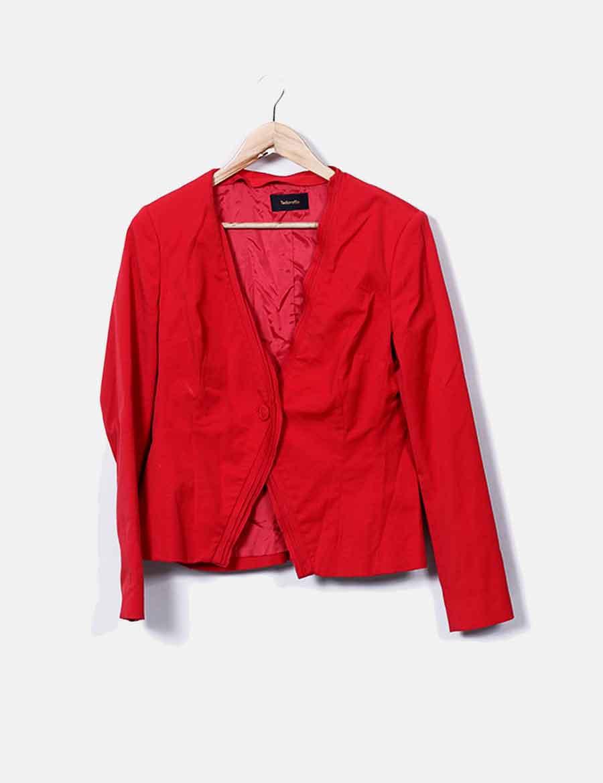 c80443108f2 Blazer Tintoretto Chaquetas roja baratos de hombreras Mujer Abrigos y online  con rIrdwqt ...