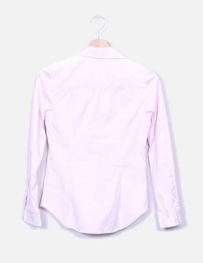 Zara Chemise rose pâle (réduction 84%) - Micolet 76b77830440