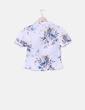 Camisa blanca estampado floral NoName