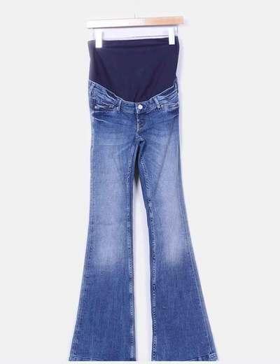 "Jeans de campana "" Premamá"" H&M"