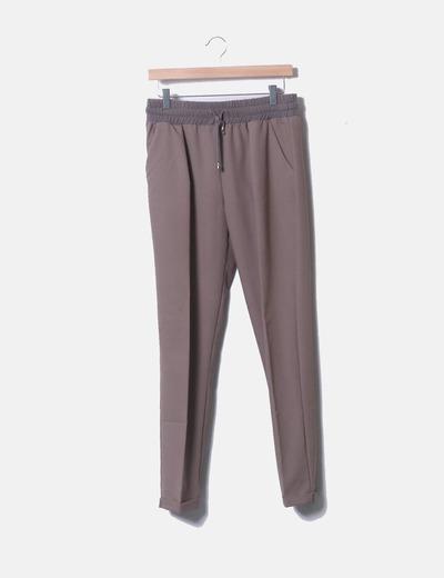Pantalón chino marrón Nekane