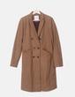 Abrigo masculino marrón Pull&Bear