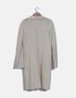 Levita blanca texturizada manga larga Zara