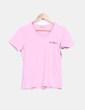 Camiseta manga corta rosa Guru