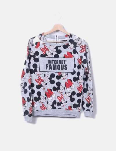 Sweat-shirt disney Bershka