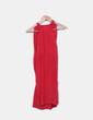 Vestido rojo de tirantes Trucco
