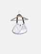 Bolso shopper blanco combinado Made in china
