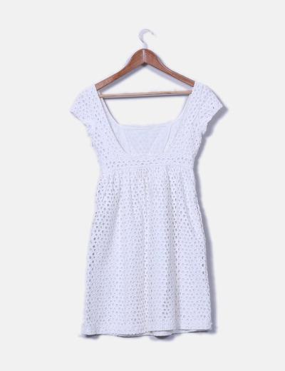 Pedro del hierro vestido guipur blanco descuento 71 for Ariadne artiles medidas
