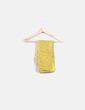 Foulard amarillo estampado floral NoName