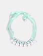 Collar verde con perlas NoName