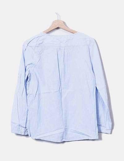 Blusa de rayas con botones