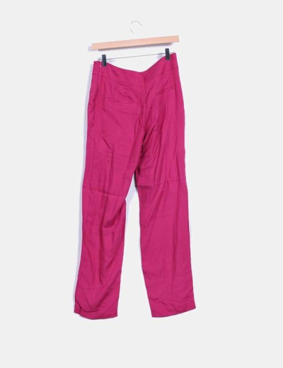 Vestido recto rosa