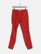Pantalón rojo animal print Zara