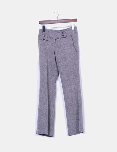 Pantalón gris jaspeado NoName