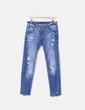 Jeans desgastados ripped Zara