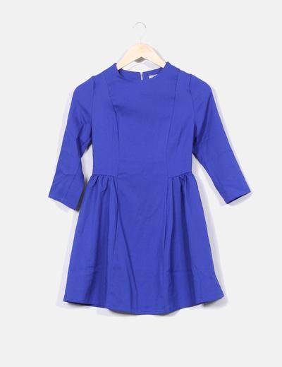 Robe bleu klein lady Jolina
