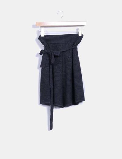 Falda tricot Mango