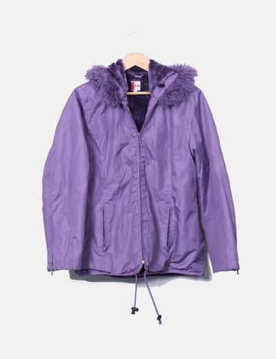 Veste violette imperméable NoName