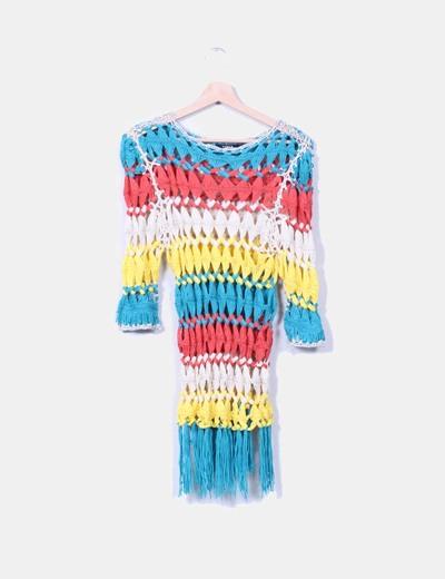Jersey trenzado multicolor NoName