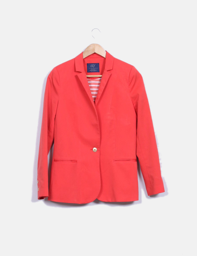 Blazer coral Zara