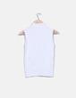 Gilet blanc en tricot Fórmula Joven