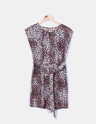 Mono animal print corte princesa Atmosphere