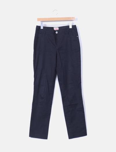 Pantalon negro basico  Jota+Ge