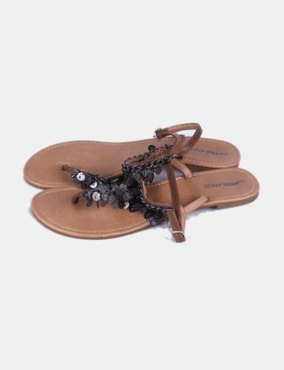 Sandales ethniques Suiteblanco