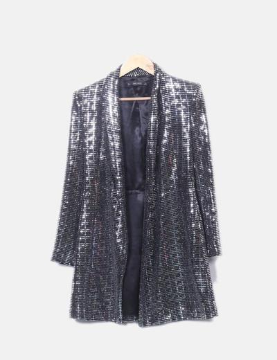 Levita glitter entallada Zara