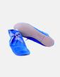 Botín azul con cordón gris Howsty