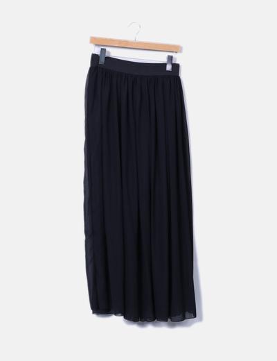 Falda maxi negra NoName