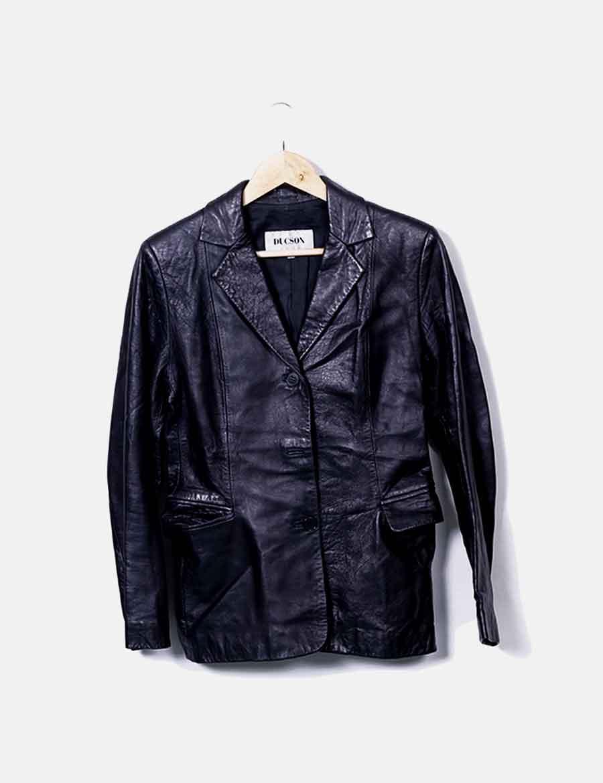 Ducson Zzudr8tq Online De Blazer Abrigos Cuero Negro Chaquetas Baratos Y g0zwXwq