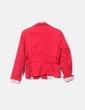 Blazer roja combinada COLD