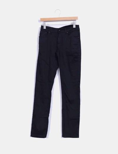 Pantalón recto negro MAS fashion
