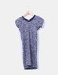 Vestido tricot jaspeado Stix Casual