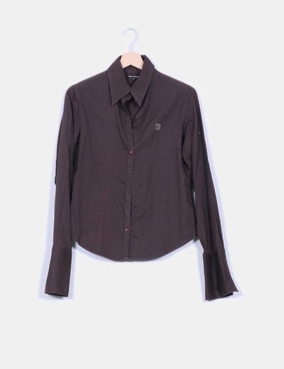 Camisa marrón Pedro del Hierro