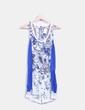 Mono azul floral Zara