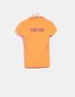 Polo skinny naranja flúor Trendy bordado Polo Ralph Lauren