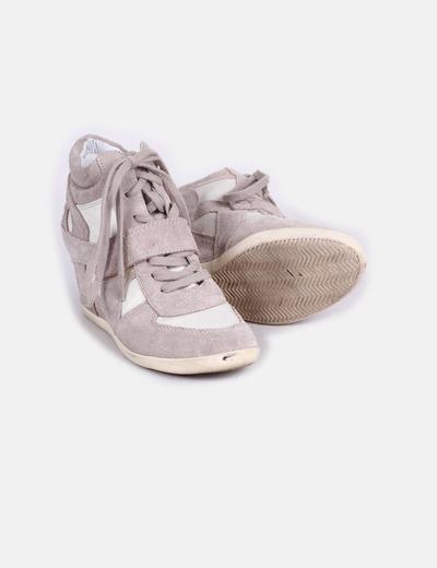 Sneakers de cuna beige