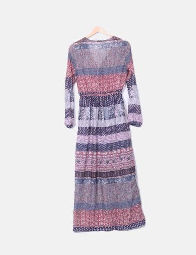 Pull Bear Bedrucktes Chiffon-Kleid (Rabatt 74 %) - Micolet e54ef2e46e