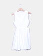 Robe blanche évasée Pepa Loves